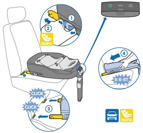 installing a car seat base maxi cosi pearl 1 car seat co
