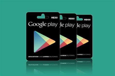 google play passa  aceitar cartoes pre pagos  brasil