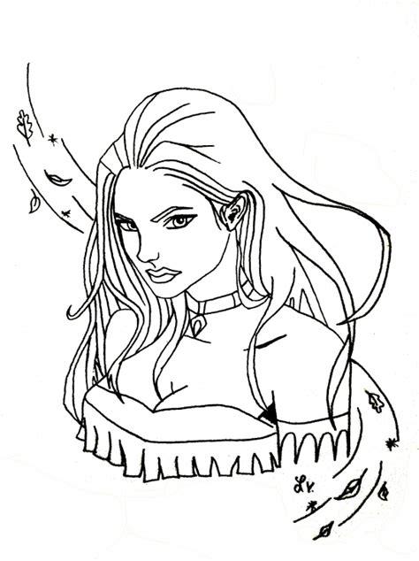 Coloriage Princesse Pocahontas 224 Imprimer Sur Coloriages Info Coloriage A Imprimer Pour Fille L