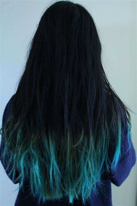 does hair look like ombre when highlights growing out blue ombre hair the beauty thesis