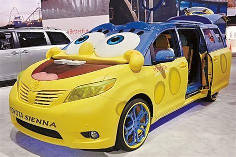 film kartun offside toyota buat mobil konsep spongebob
