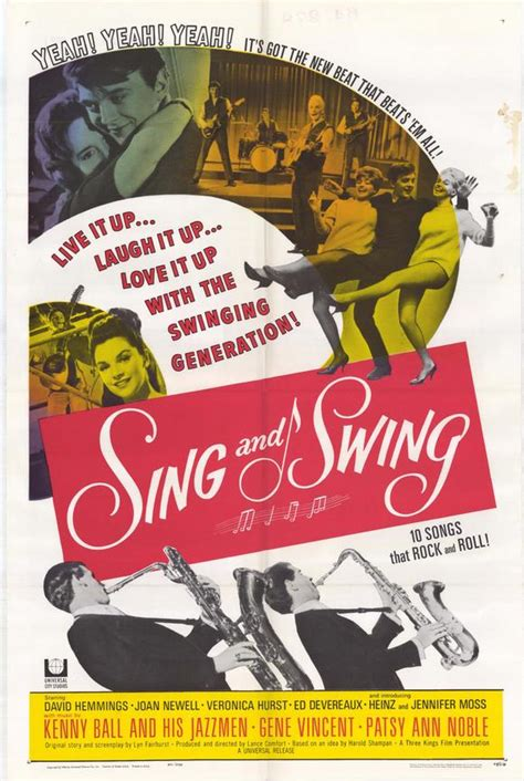 Sing And Swing Movie Posters From Movie Poster Shop