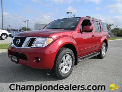 red nissan 2012 2012 red brick nissan pathfinder sv 57873281 photo 8