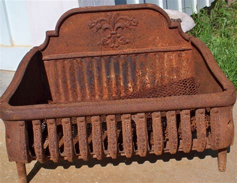 fireplace grill grate antique cast iron fireplace grate med home design
