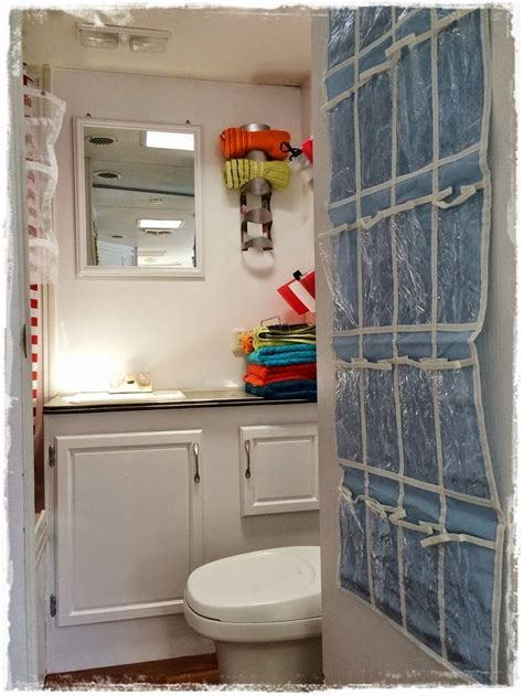 69 Best Images About Rv Remodeling Ideas On Pinterest Rv Bathroom Storage