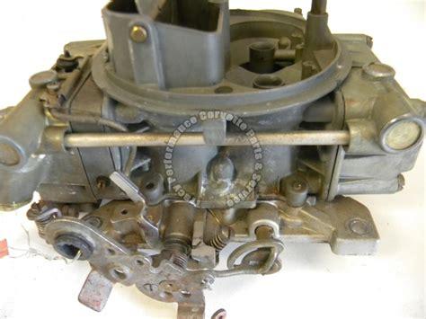 corvette carburetor 1967 corvette used 3906631 da 3810 holley carburetor asm