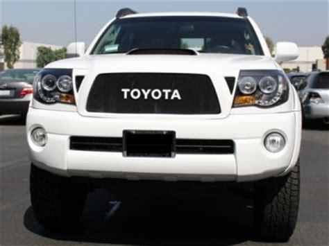 2006 Toyota Tacoma Headlights 2006 Toyota Tacoma Black Halo Projector Headlights And Led