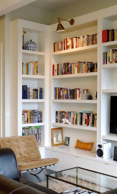 livingroom shelves breathtaking diy shelves for living room white wall