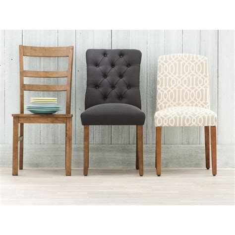 threshold brookline tufted dining chair glacier brookline tufted dining chair threshold target