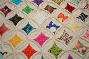 How To Make Cathedral Window Patchwork - cathedral windows quilt squares