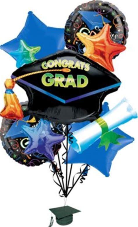 Graduation Balloon Bouquet 11pc   Grad Celebration   Party