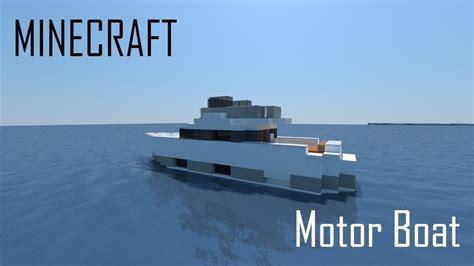 minecraft boat games minecraft motor boat full interior download youtube
