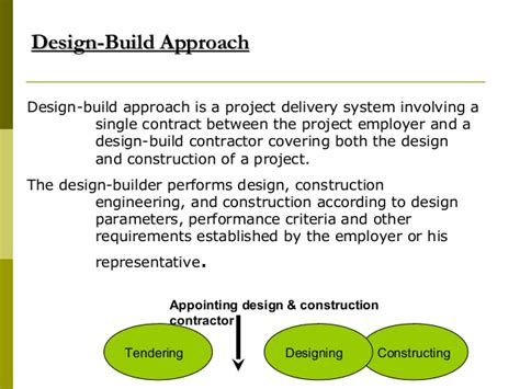 how do design and build contracts work construction contracts docuements 08092008
