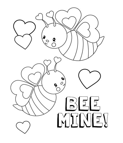 valentine s coloring pages crazy little projects