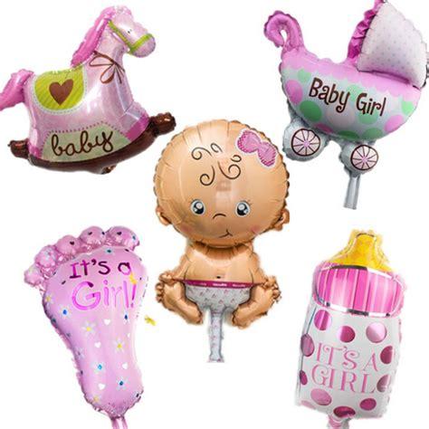 Balon Foil Baby Mini Boy 5pcs lot mini balloon baby shower foil baby boy
