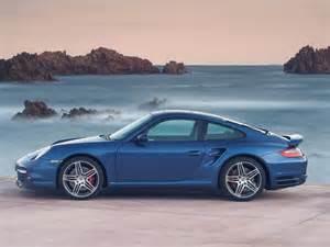 Porsche Blue 2007 Porsche 911 Turbo Blue Side 1280x960 Wallpaper