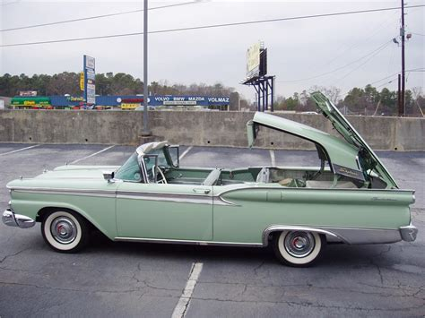 Home Interior Items 1959 ford galaxie 500 skyliner retractable 22419