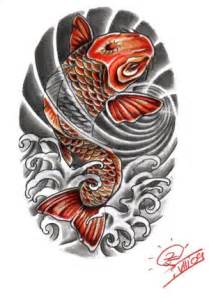 japanese koi fish tattoo designs meaning