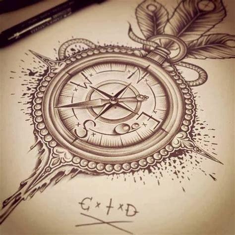 frankie savage compass tattoos
