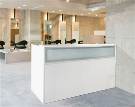 White Salon Reception Desk White Reception Desk Salon