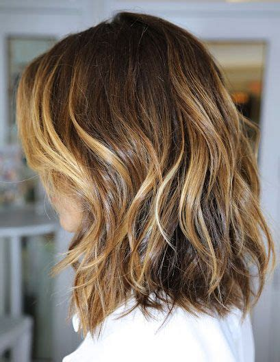 medium length highlighted hairstyles highlights in shoulder length hair buscar con google