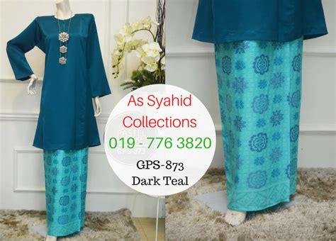 Baju Kurung Moden Warna Pastel 5 warna baru baju kurung pahang songket gema pastel gps as syahid collections