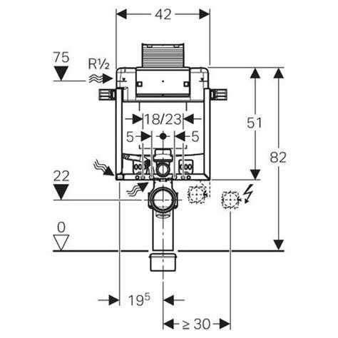 altezza cassetta geberit geberit kombifix element f 252 r wand wc 82 cm m omega up