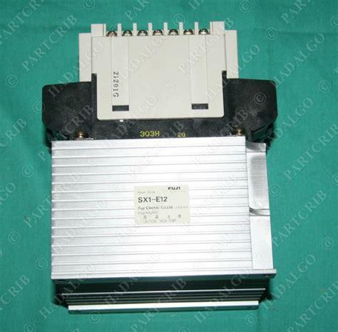 Solid State Kontaktor Ss 803h 1z A1 Fuji Electric fuji ss303h 1z a1 solid state contactor starter 30a new ebay