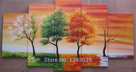 Painting 4 Seasons by Achetez En Gros 4 Saison Arbre Peinture En Ligne 224 Des