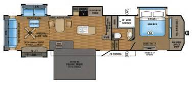 2017 luxury fifth wheel floorplans amp prices