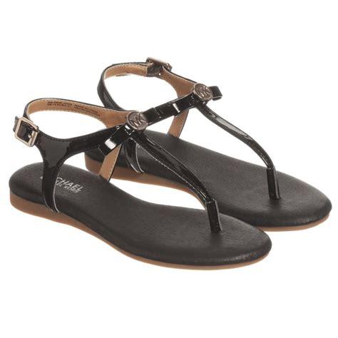 sandals outlet michael kors black sandals childrensalon outlet