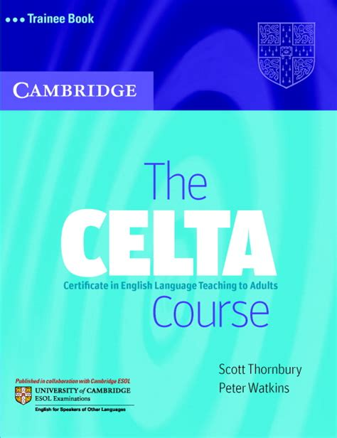 the celta course 171 ih journal