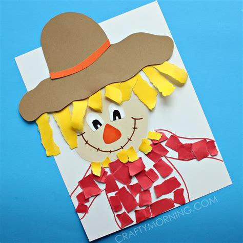 Paper Bag Scarecrow Craft For Preschoolers - 25 unique farm crafts ideas on preschool farm