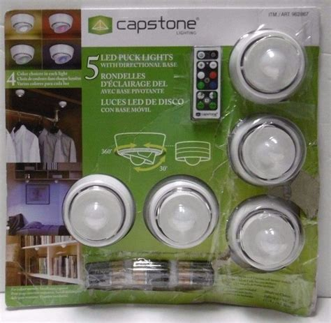 Capstone Lighting 1000 ideas about led puck lights on