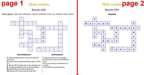 Grille De Mots Mélés by Pr 233 Sentation Des Mots Crois 233 S En Ligne Clic Ma Classe