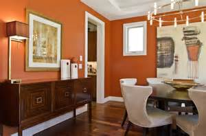 Orange Dining Room by Get Your Color On Orange The Diy Homegirl
