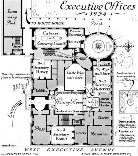 white house floor plans west wing west wing white house museum