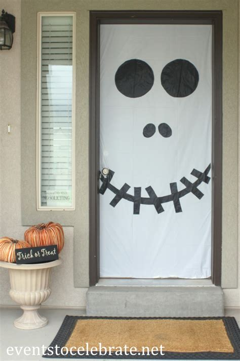 printable halloween door decorations halloween door window decorations events to celebrate