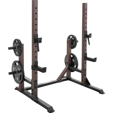 Marcy Squat Rack by Marcy Steel Deluxe Squat Rack With Plate Holders