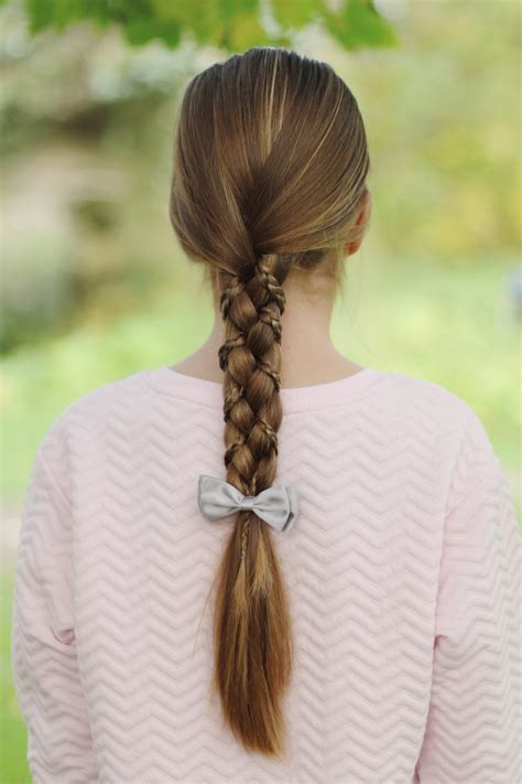 three strand braid or plait one how to tie knots three strand braid with microbraids youtube