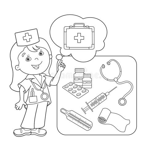 nurse tools coloring page vehicle coloring pages 24 nurse tools coloring page
