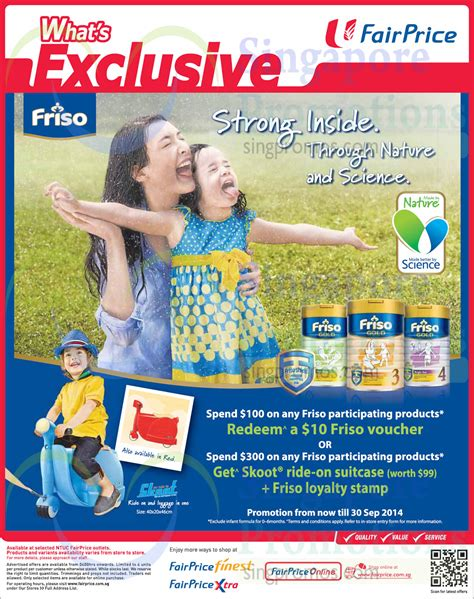 Friso Comfort Singapore by Friso Spend 100 Get Free 10 Voucher Ntuc Fairprice 8