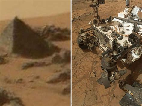 Karma Mars nasa s curiosity rover discovered pyramid on mars wishwa