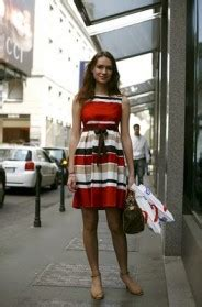 997 Stripped Dress Import on the street via verri milan 171 the sartorialist