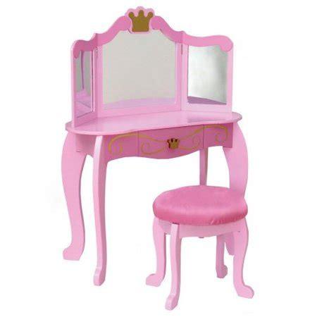 Kidkraft Wooden Play Kitchen Set With Stools by Kidkraft Princess Vanity And Stool Walmart