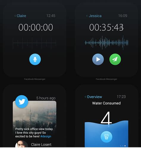 design app apple design concept reimagines popular ios apps for apple watch