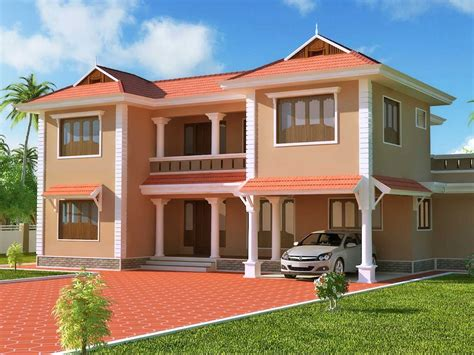 simple design of two storey house home design and style