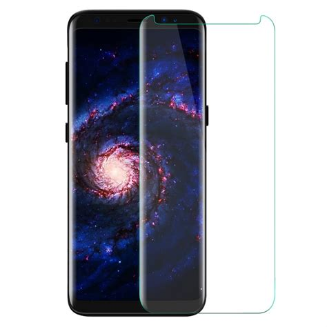Screen Guard Tempered Glass Samsung Galaxy S8plus luvvitt tempered glass screen protector friendly for galaxy s8 plus clear