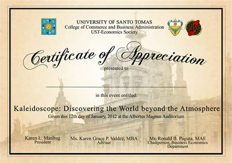 Example of certificate of appreciation for guest speaker ins example of certificate of appreciation for guest speaker examples of certificate of recognition word yadclub Image collections