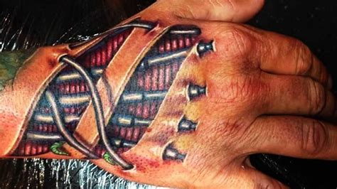 best 3d tattoos 3d hand tattoo designs part 1 youtube
